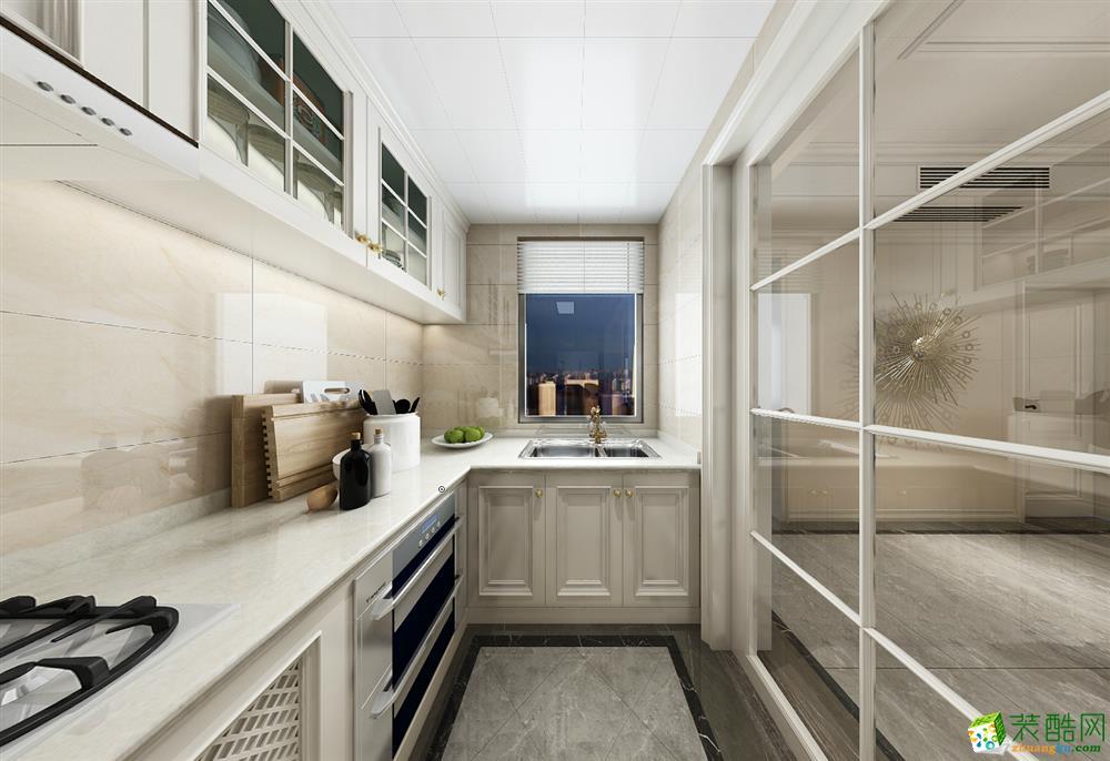 重庆110平米装修--美的家装饰 中交漫山三室两厅装修 混搭风格装修案例效果图赏析