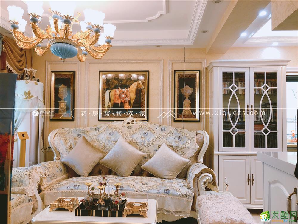 杭州70平米两室两厅装修―东新园雪峰苑欧式风格装修设计作品
