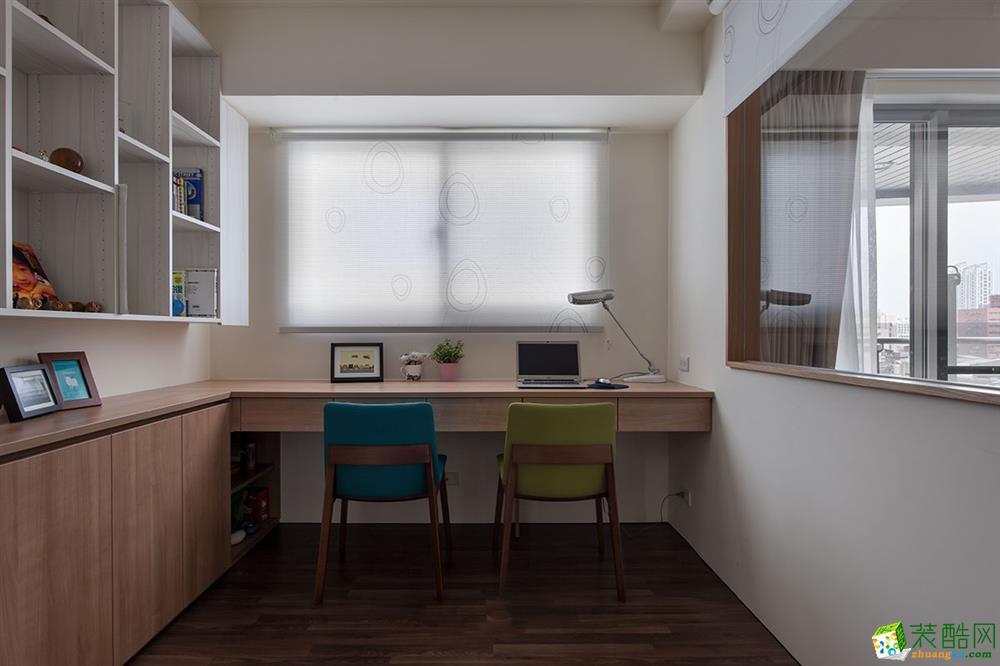 衡阳金煌装饰-110平米田园三居室装修案例