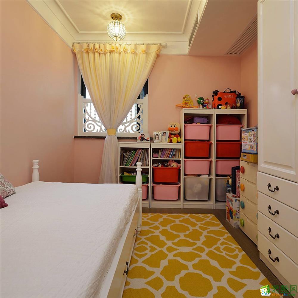 衡阳名匠装饰-124平米美式乡村三居室装修案例