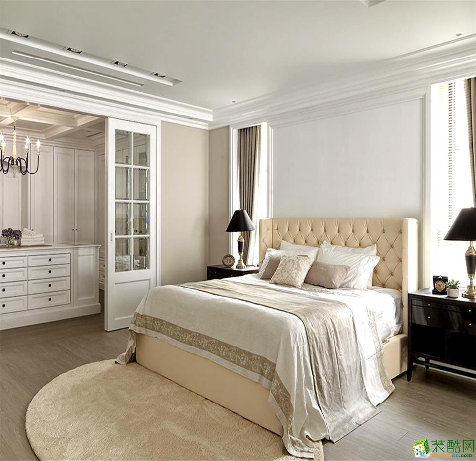 衡阳点石装饰-95平米简欧两居室装修案例