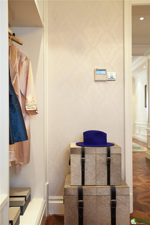 合肥三室两厅装修―文一名门名城120平米北欧风格案例