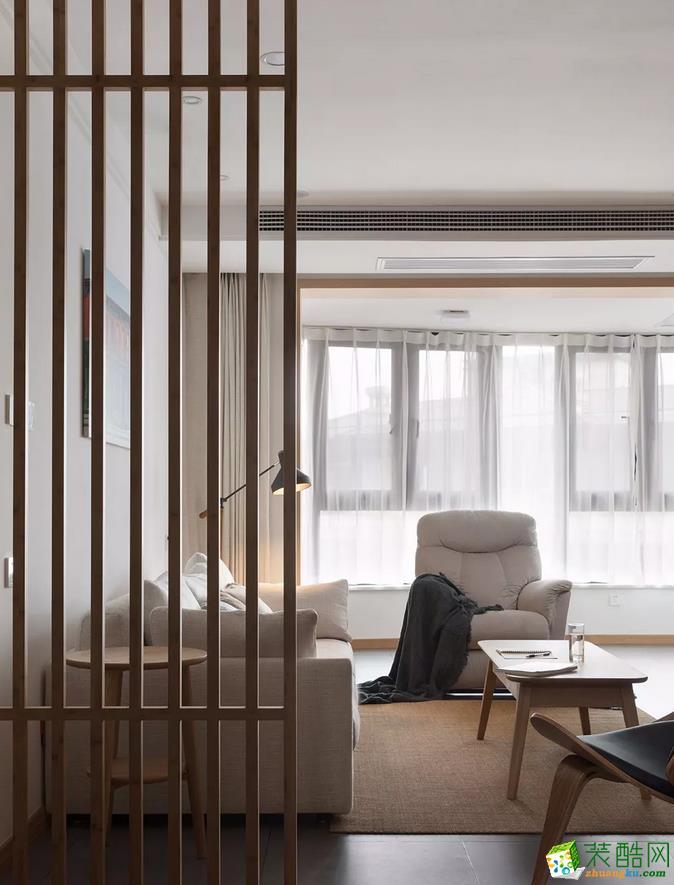 【冠领装饰】105平现代简约风格三居装修案例