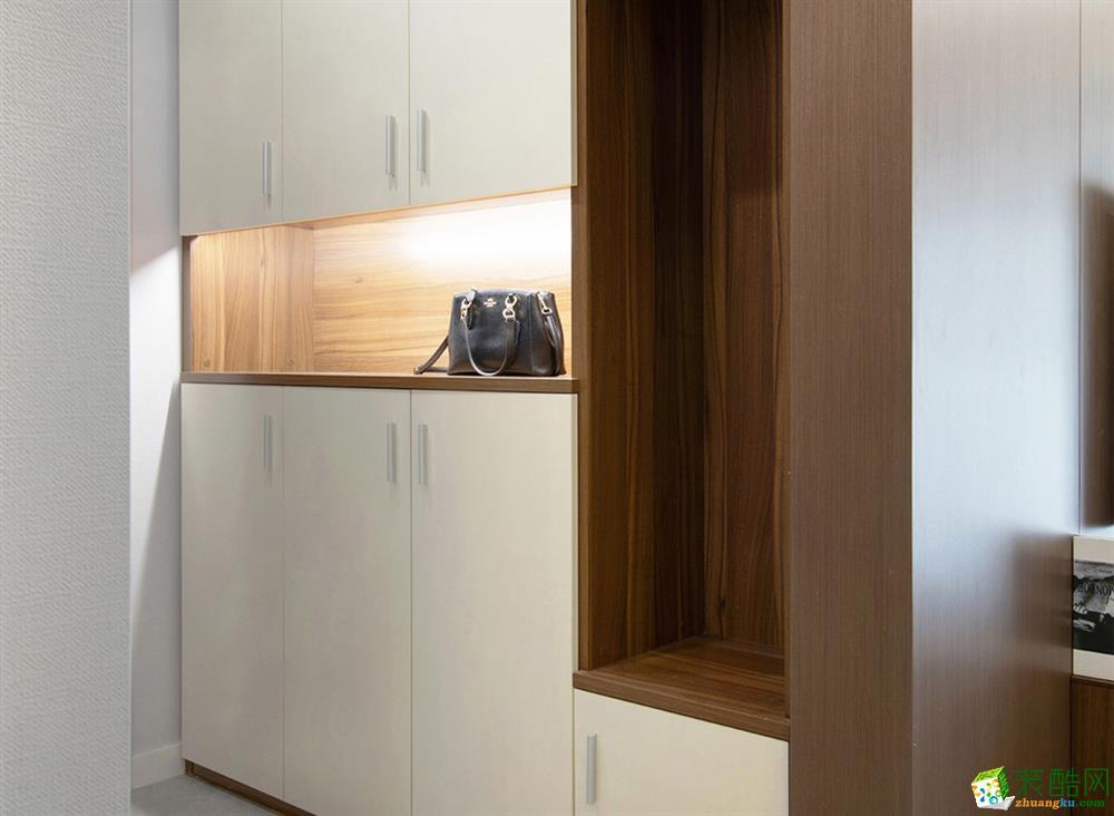 成都三室两厅装修 121平米北欧风格装修案例图--众意装饰