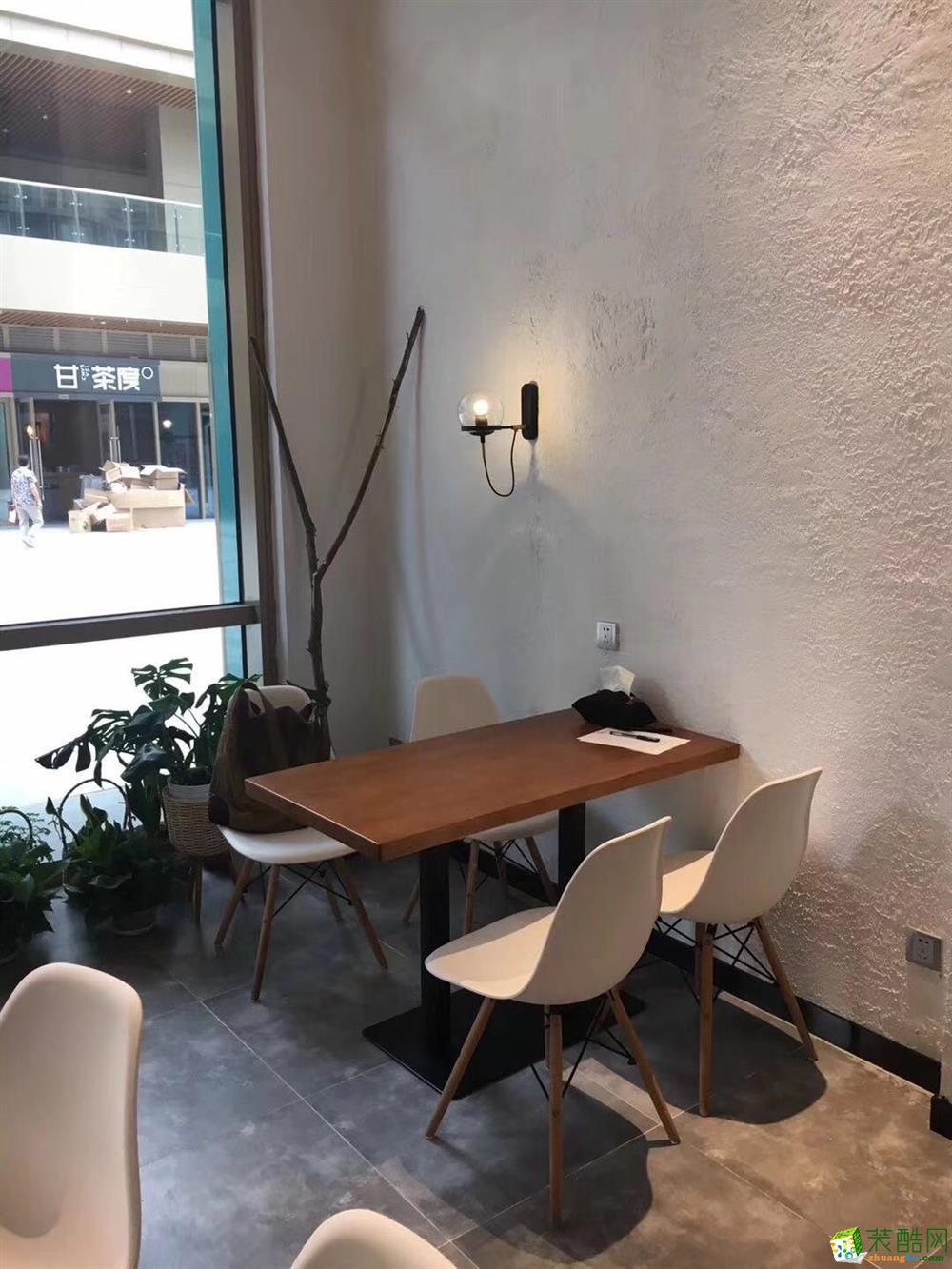 合肥餐饮门店装修―澜曦餐吧120平米简美风格设计
