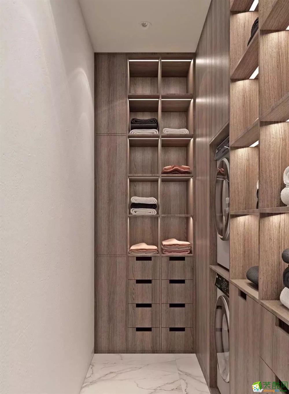 重庆220平四室两厅装修 舜山府现代风格装修赏析 品界装饰