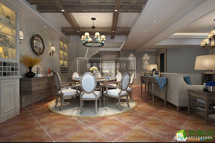 贵阳简美设计装修效果图,完美呈现温馨典雅,别墅设计装修效果图