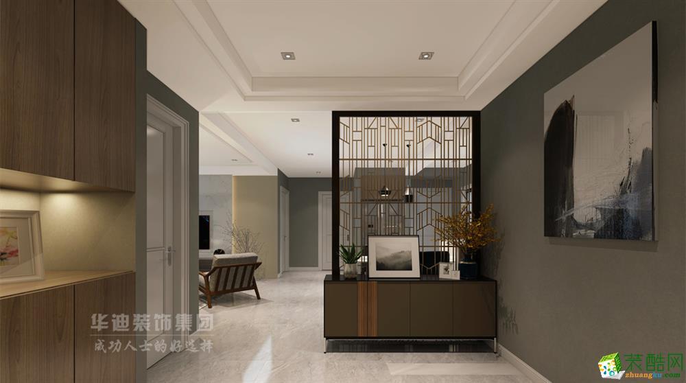 合肥148�O四室两厅装修―花山堡墅简约风格设计效果图