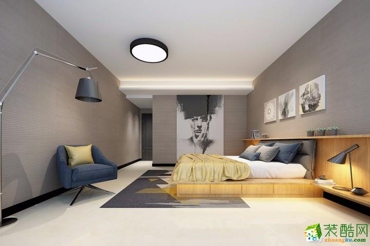 【有家装饰】闽江世纪城120平方现代简约风格装修效果图