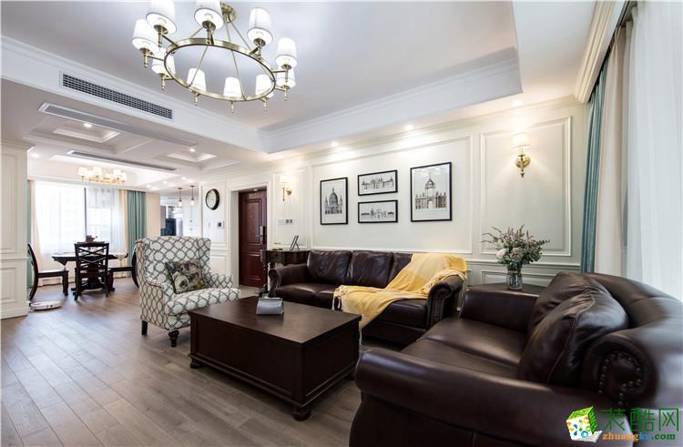 武汉160�O四室两厅装修―【澳华装饰】百步亭现代风格设计作品