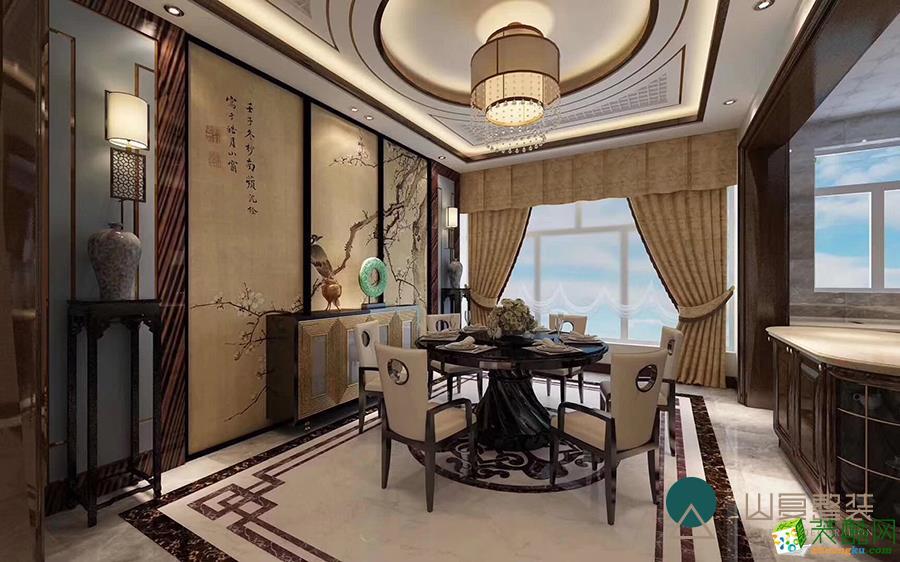 哈尔滨70�O两室一厅装修―新中式风格设计作品