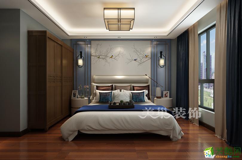 【美巢互联装饰】保利心语135平四室两厅户型装修设计效果图