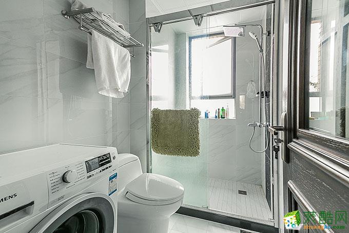 133平三居室中式田园风格装修效果图