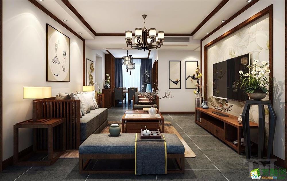 金地明悅 新中式風格 四室兩廳