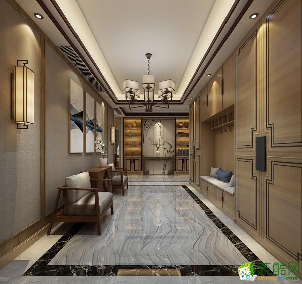 贵阳400平米装修 别墅住宅豪华风格装修案例效果图-上东大宅