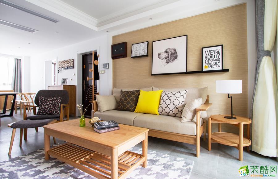 黔江80平米两室两厅现代风格装修案例图-凯泽装饰作品