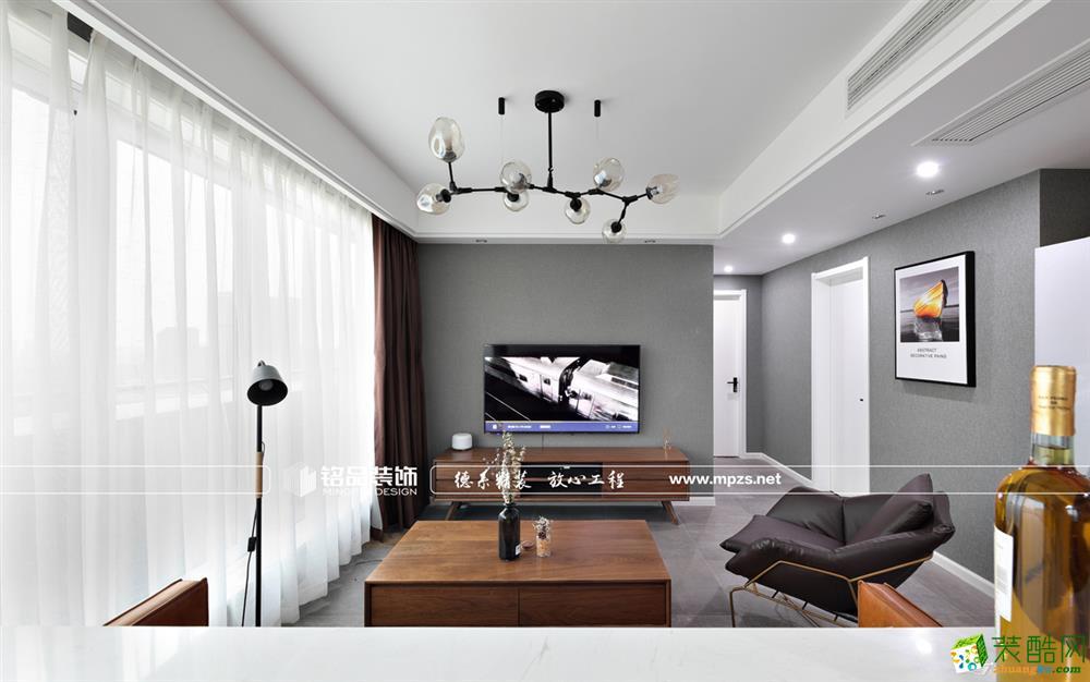 桐庐87�O两室一厅装修―铭品装饰北欧风格设计作品