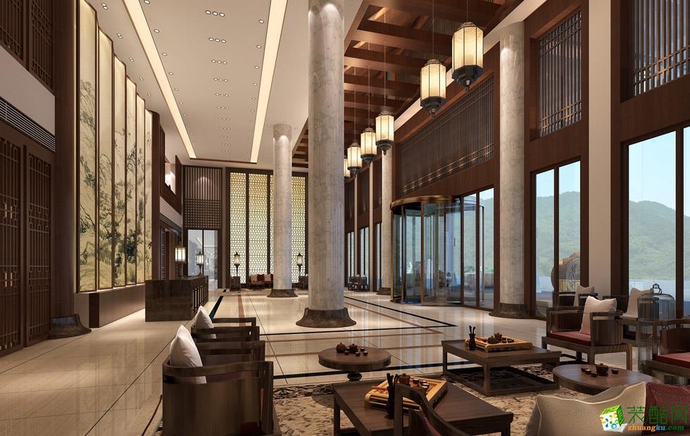 重庆酒店装修设计案例豪华酒店装修案例--阔高装饰