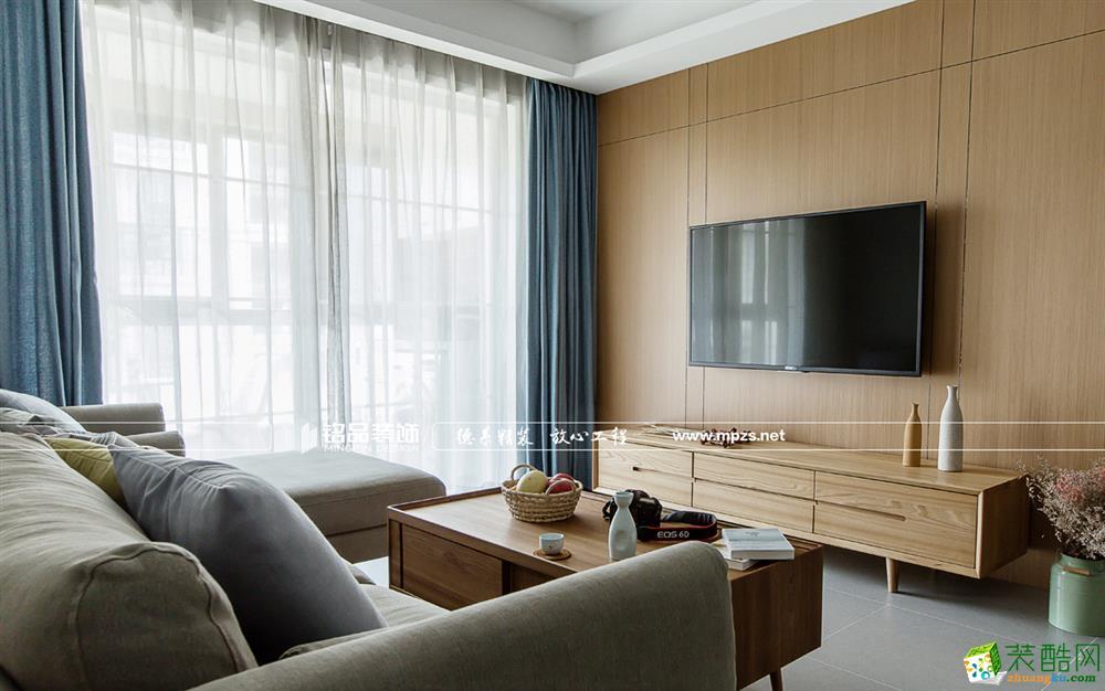 桐庐129�O四室两厅装修―铭品装饰北欧风格设计效果图