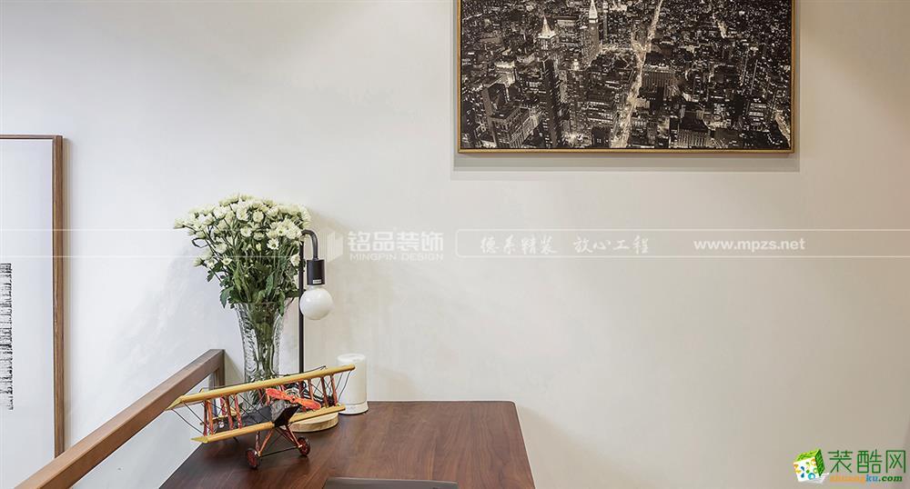 桐庐140�O四室两厅装修―铭品装饰北欧风格设计作品案例