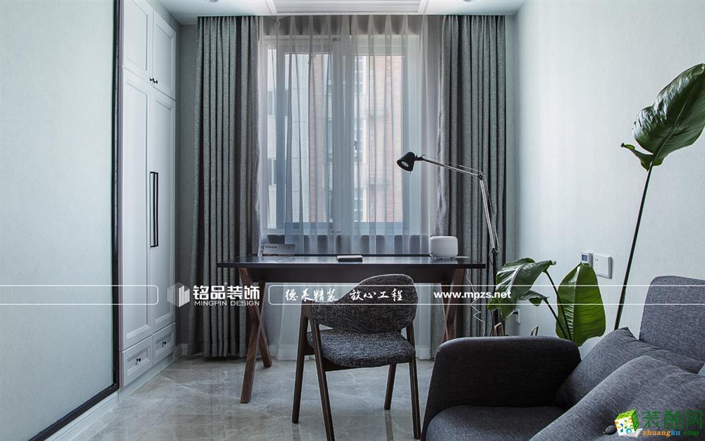 桐庐120�O三室两厅装修―铭品装饰简约风格设计作品