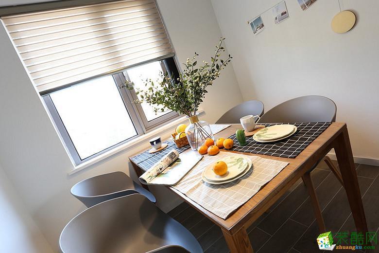 餐厅 重庆87平米两室两厅装修 北欧风格装修案例图赏析 -维享家装饰 维享家87平北欧风