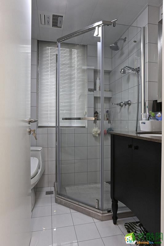 卫浴 重庆87平米两室两厅装修 北欧风格装修案例图赏析 -维享家装饰 维享家87平北欧风
