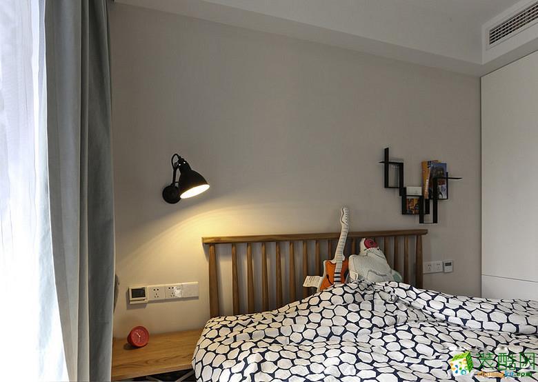 卧室 重庆87平米两室两厅装修 北欧风格装修案例图赏析 -维享家装饰 维享家87平北欧风