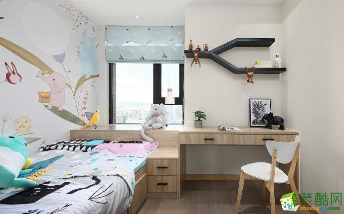 卧室 重庆90平三室两厅装修 远洋城北欧风格装修案例赏析 佳天下装饰 【佳天下装饰】  远洋城