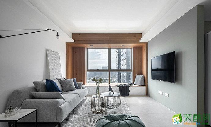 重庆90平两室两厅装修 北欧风格装修案例赏析 佳天下装饰