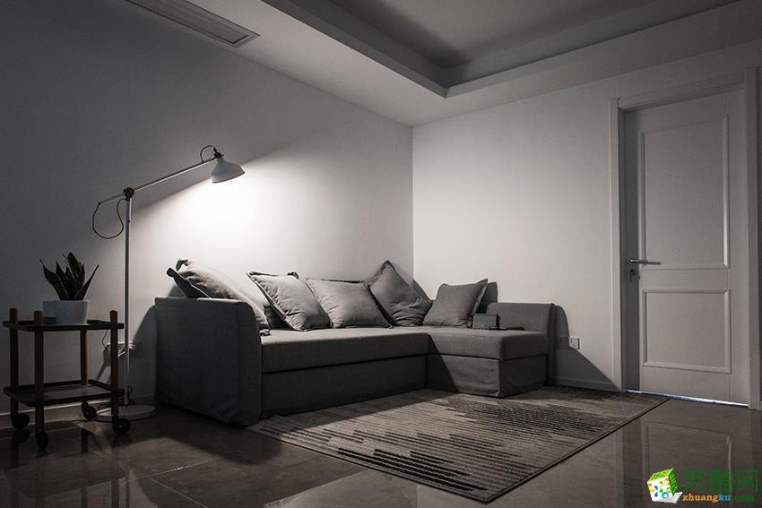 临安89�O两室两厅装修―九鼎装饰清新北欧风格设计效果图