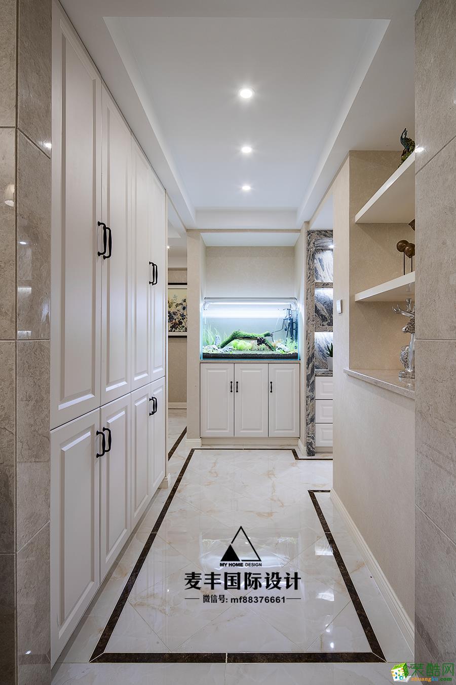 临安133平米三室两厅装修―麦丰装饰简美风格设计效果图