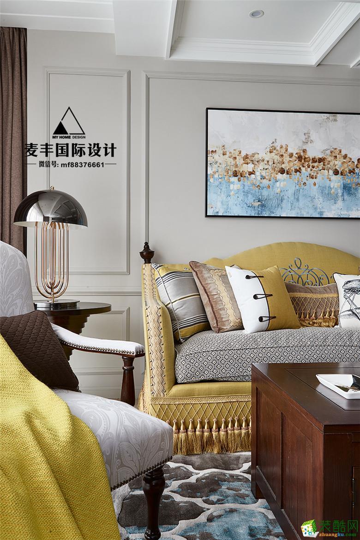 临安135�O三室两厅―铭品装饰法式风格设计效果图
