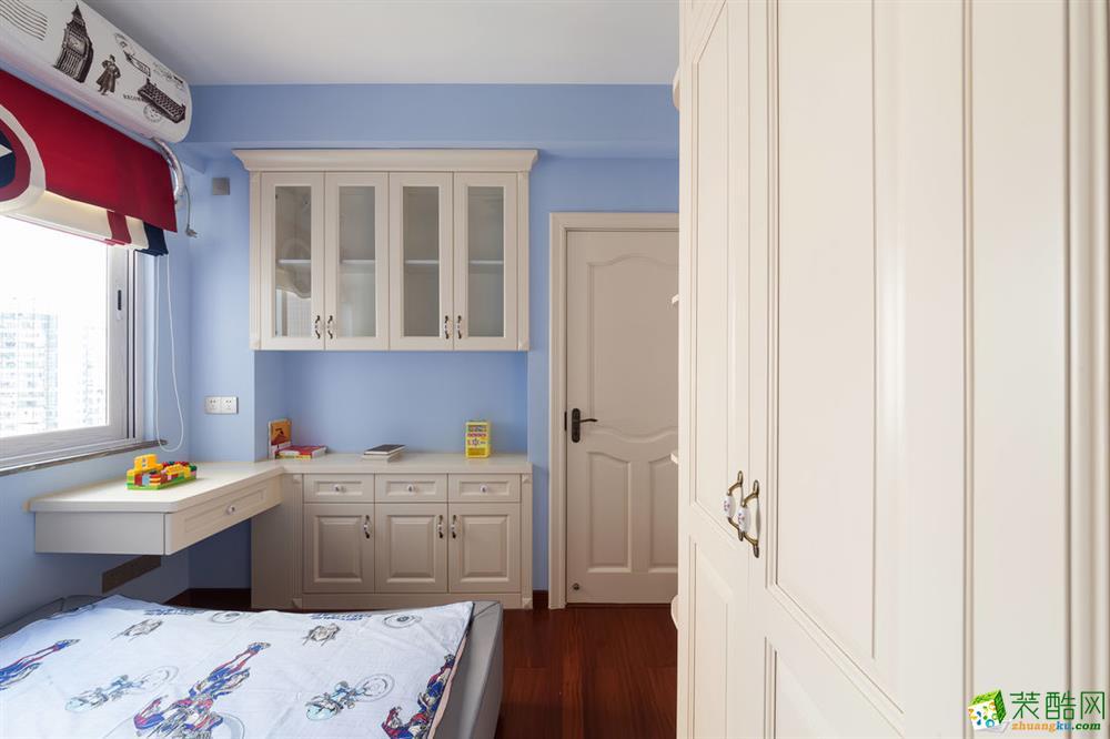 儿童房 重庆165平三室两厅装修 棕榈泉现代简约风格装修案例赏析-佳天下装饰 《佳天下装饰》-- 棕榈泉