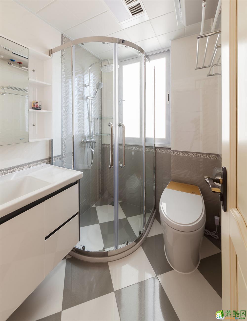 卫浴 重庆165平三室两厅装修 棕榈泉现代简约风格装修案例赏析-佳天下装饰 《佳天下装饰》-- 棕榈泉