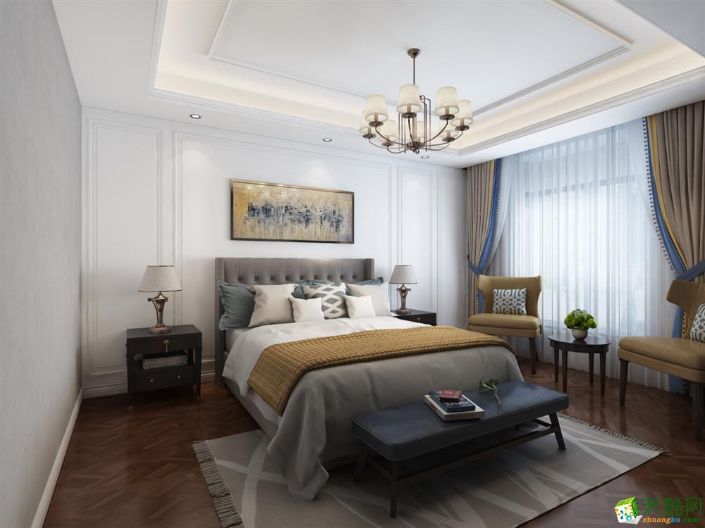 卧室  【西安业之峰装饰】诸子阶210平