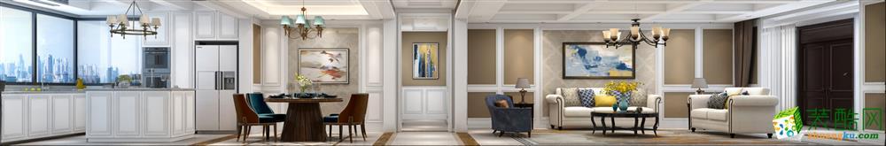 客厅  【西安业之峰装饰】诸子阶210平