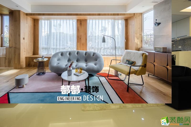 富阳160�O四室两厅装修―都都装饰轻奢现代风格作品