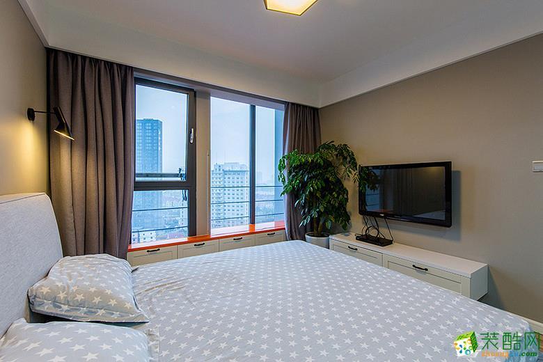 重庆两室两厅80平米装修 美式简约风格装修案例赏析 维享家装饰