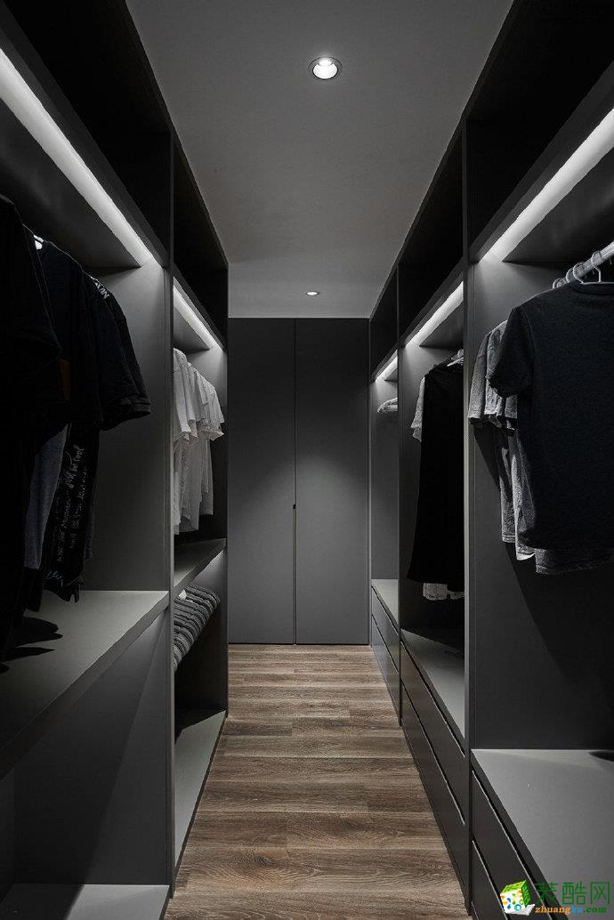 重庆三室两厅125�O装修 鲁能星城现代风格装修案例图赏析 佳天下装饰