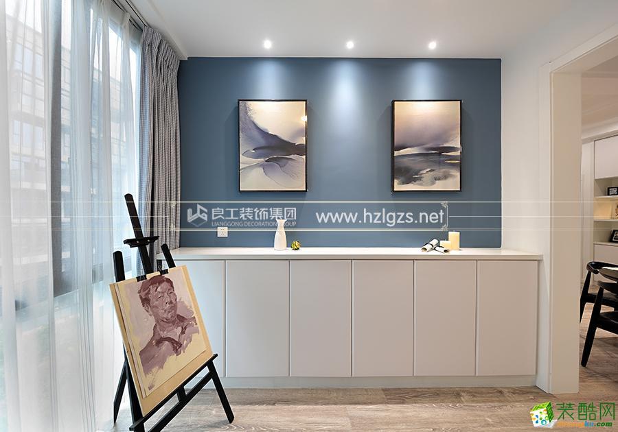 富阳120平米三室两厅装修―良工装饰现代简约风格设计效果图