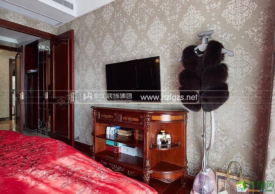 富阳90�O两室一厅一卫装修―良工装饰欧式风格设计效果图