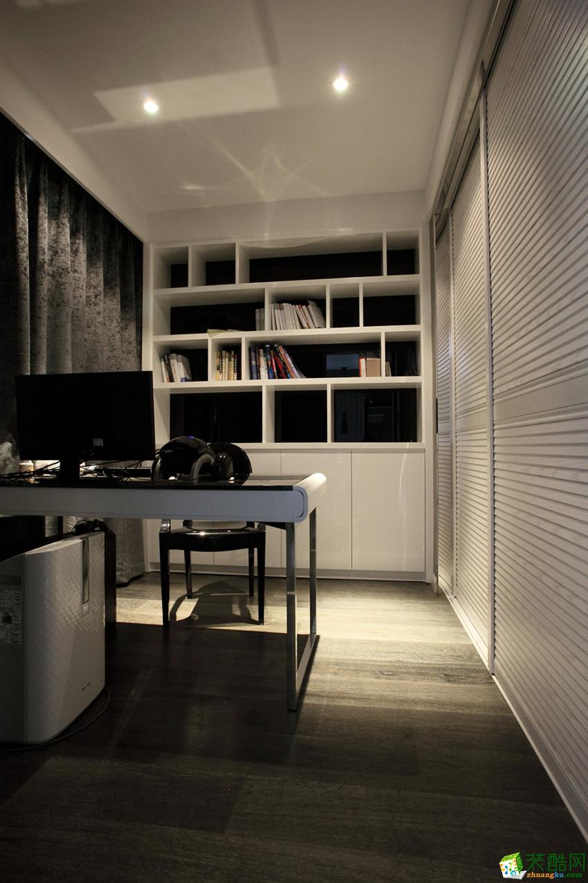 诸暨128�O三室两厅两卫装修―九鼎装饰后现代风格作品