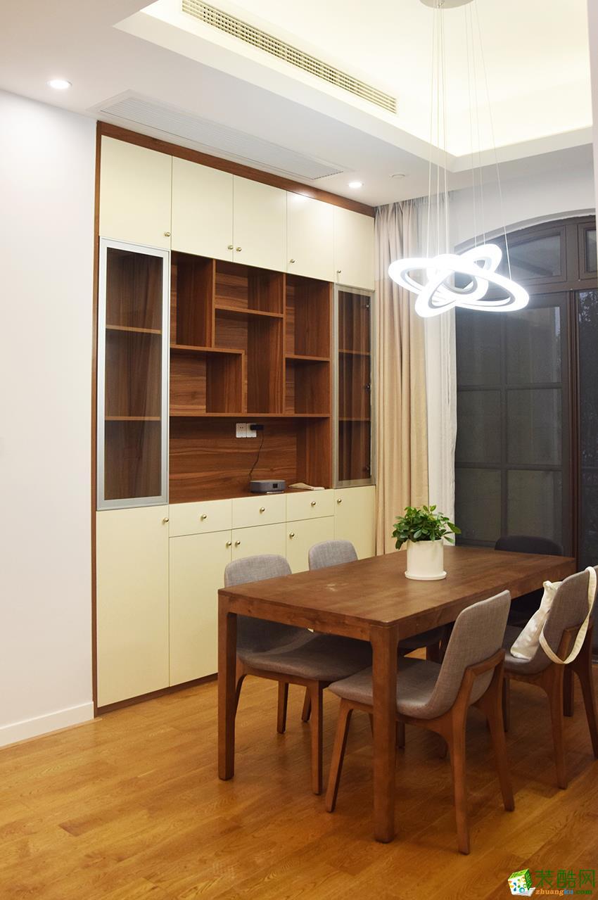 诸暨100�O三室一厅一卫装修―九鼎装饰北欧风格作品