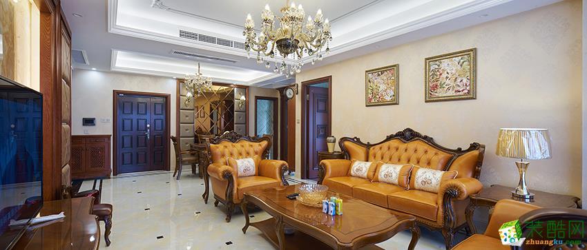 诸暨四室两厅两卫装修―九鼎装饰欧式风格设计作品