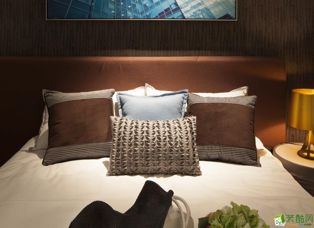 重庆两室两厅一厨一卫85平米装修 龙湖丽江中式风格装修案例赏析 增柏驿装饰