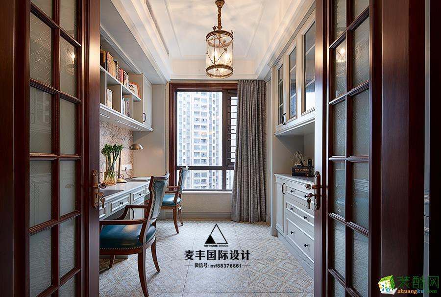 诸暨200�O别墅装修―麦丰装饰五室两厅古典美式风格作品