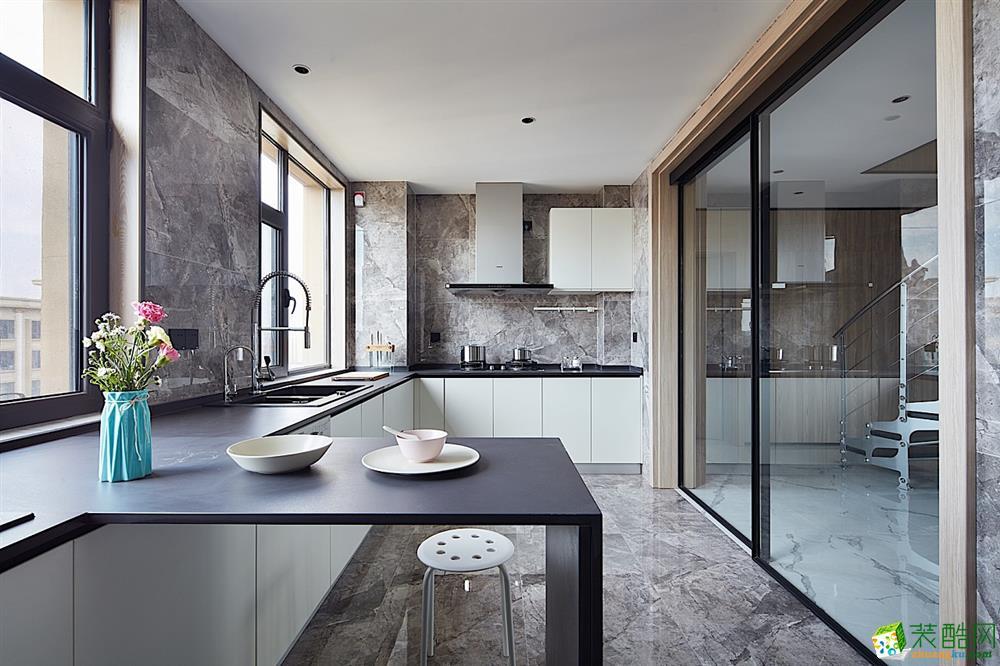 成都160平米跃层住宅装修 雅居乐中式风格装修案例图赏析-培安居装饰