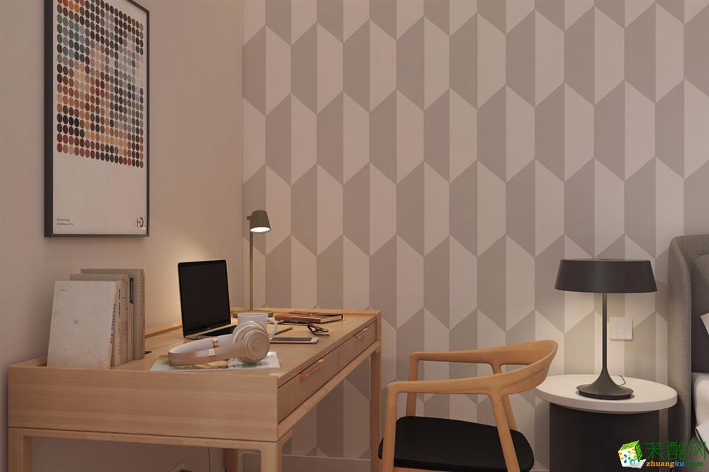 成都110㎡三室两厅装修 保利城中式风格装修案例图赏析 -培安居装饰