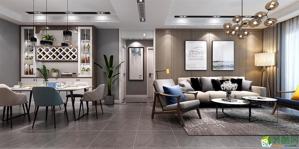 成都150平米四室兩廳裝修 中信云棲谷簡約風格裝修案例圖 -培安居裝飾